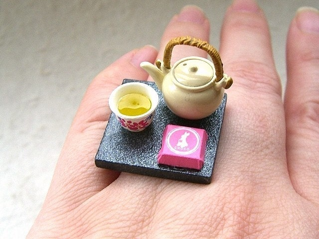 miniature tea ring