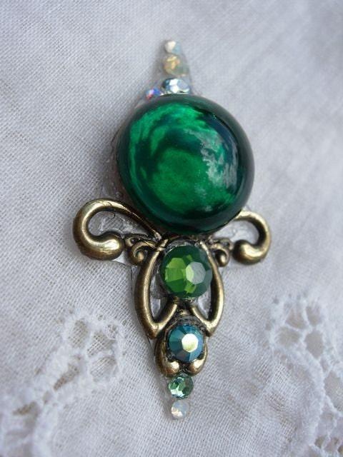 Emerald Bouquet Bindi