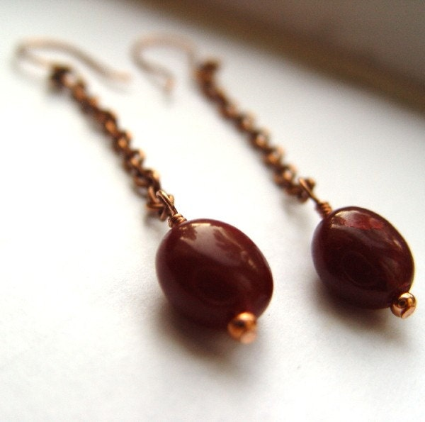 Pomegranate Kiss Earrings Picture