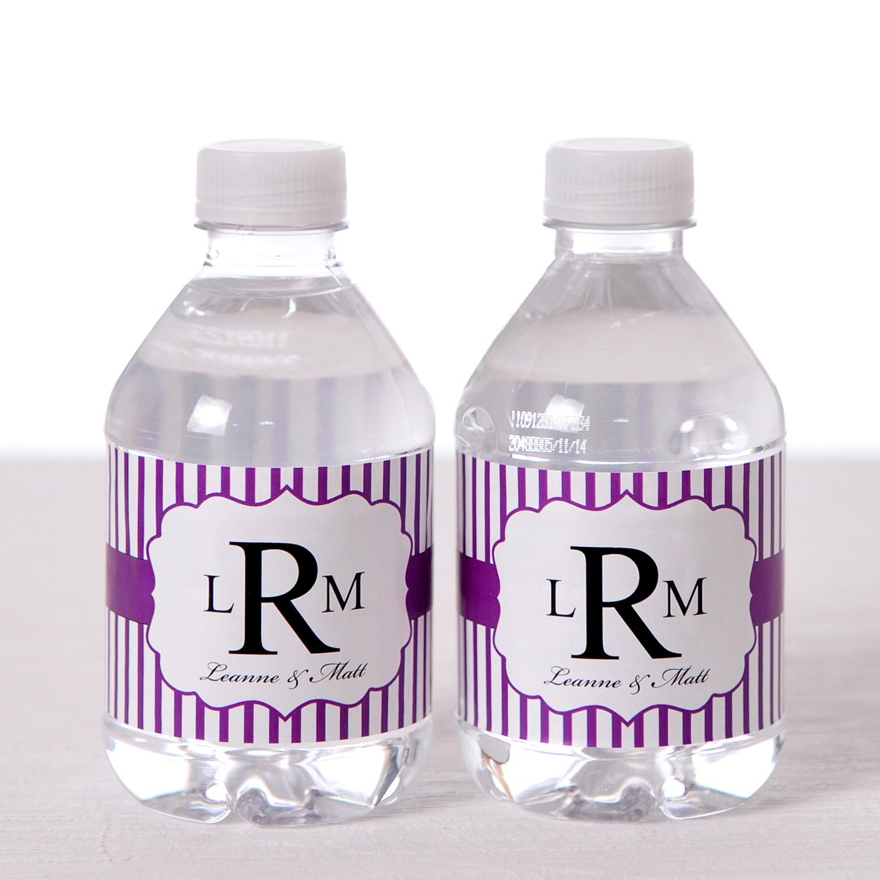 water bottle labels 100 custom wedding your logo water bottle labels