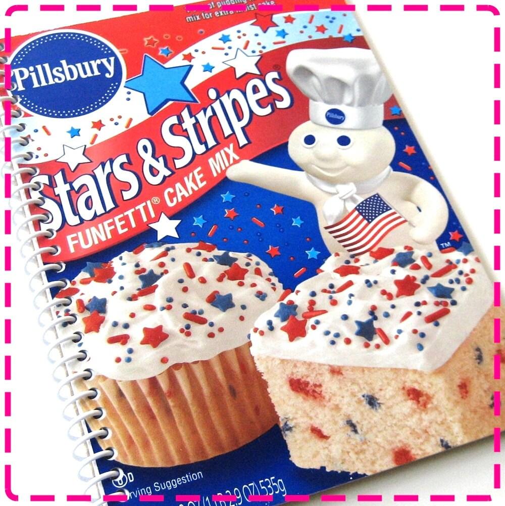 Items Similar To PATRIOTIC WHITE BIRTHDAY Cake Mix