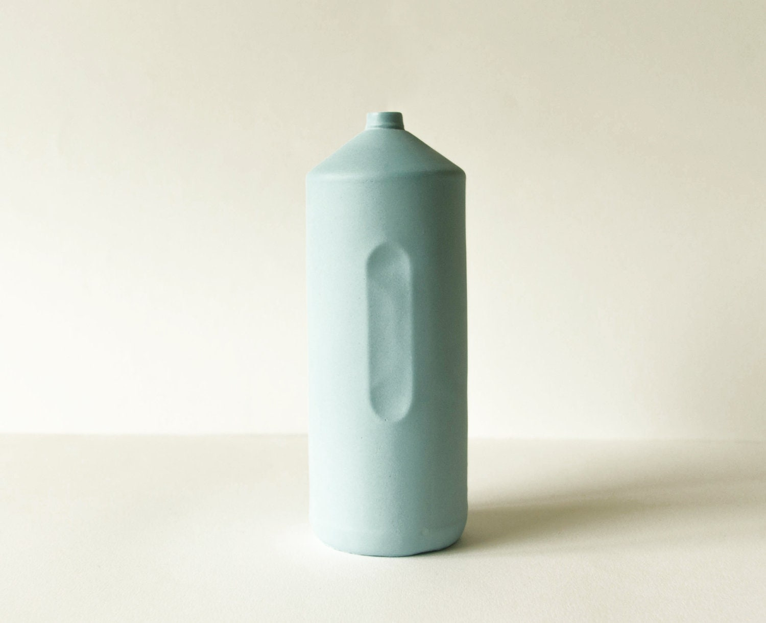Bottle Vase 2 Light Blue - FoekjeFleur