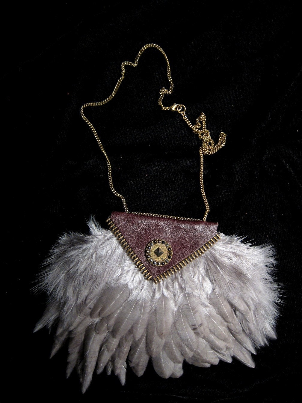 Feather Chest-plate Necklace