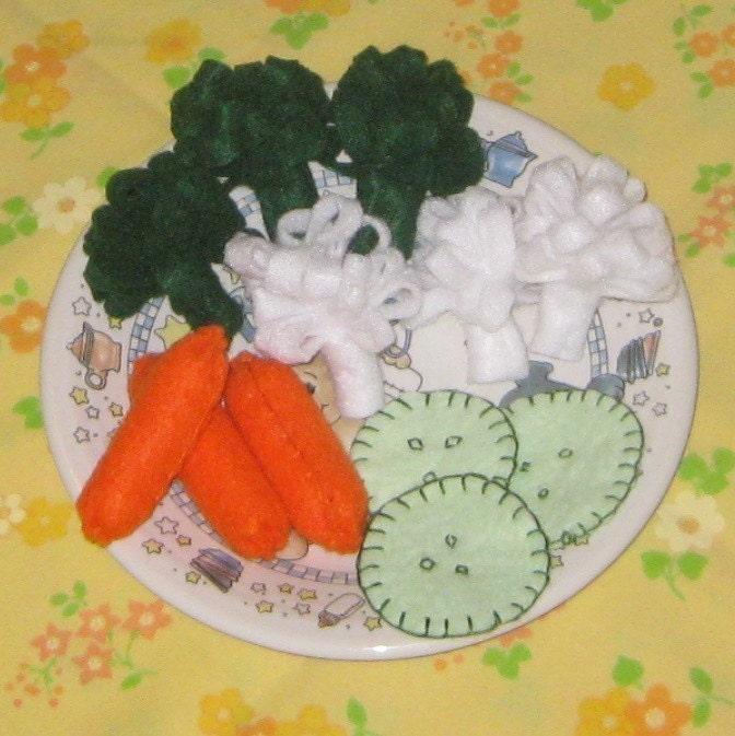Veggie Plate - Crudite - 12 pieces