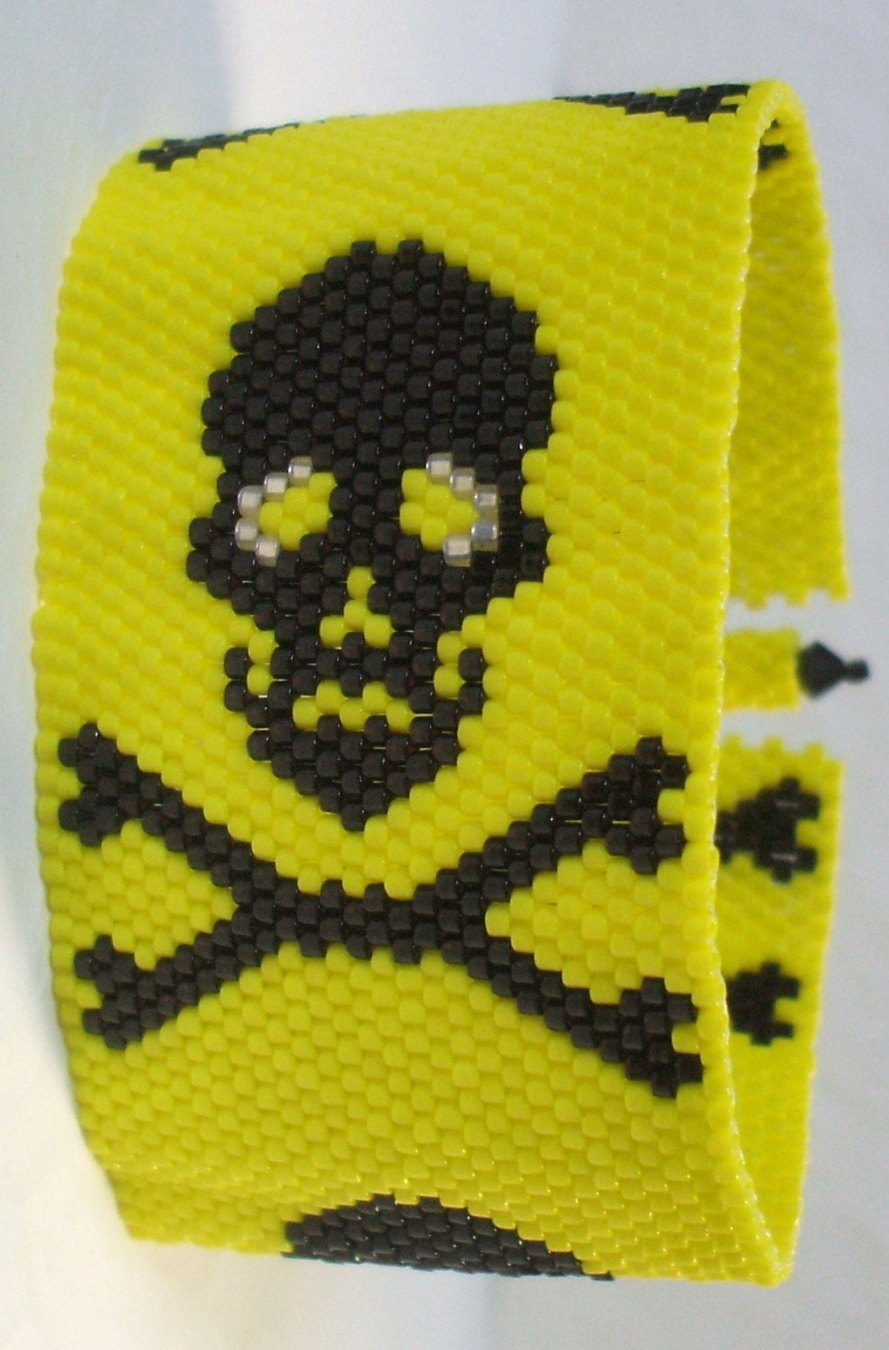 Jolly Roger Pirate Skull And Crossbones Cuff Bracelet