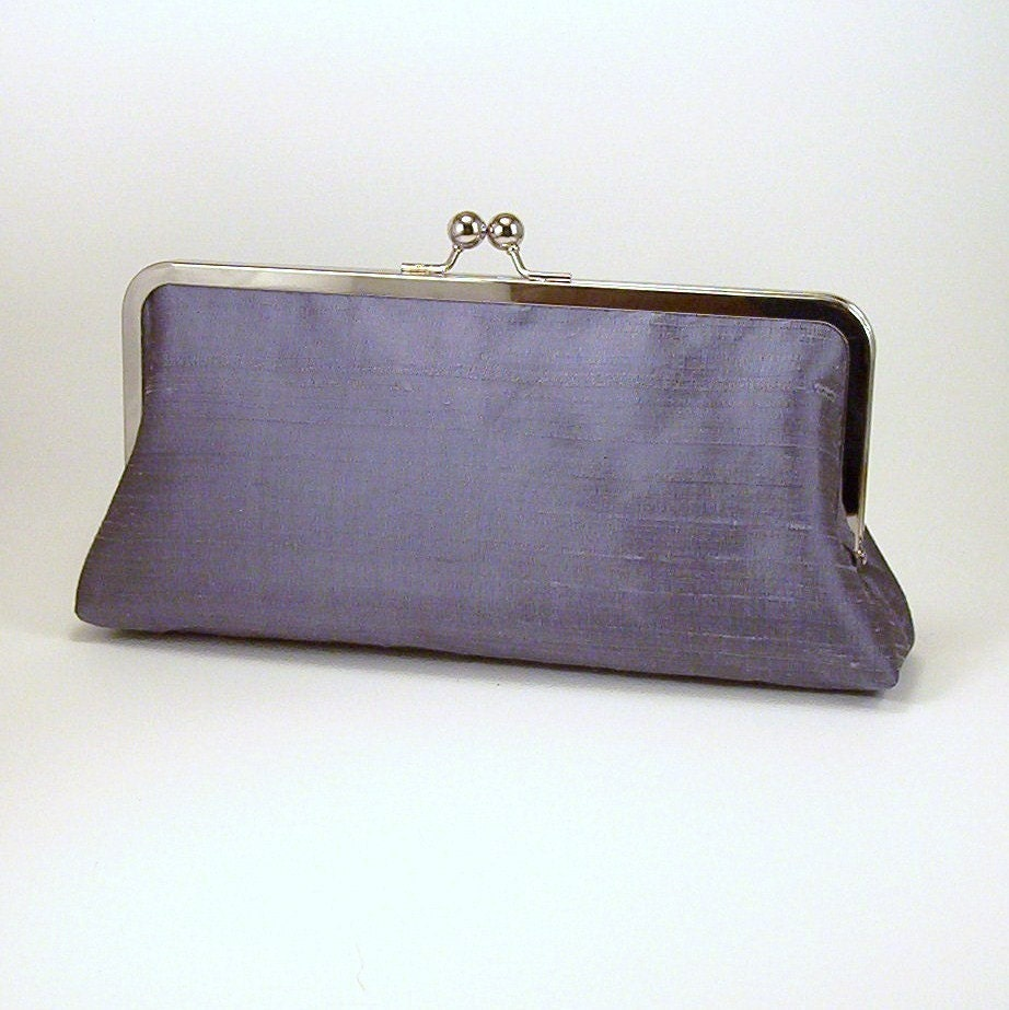 Choose Your Own Colors - Silk Slimline Clutch