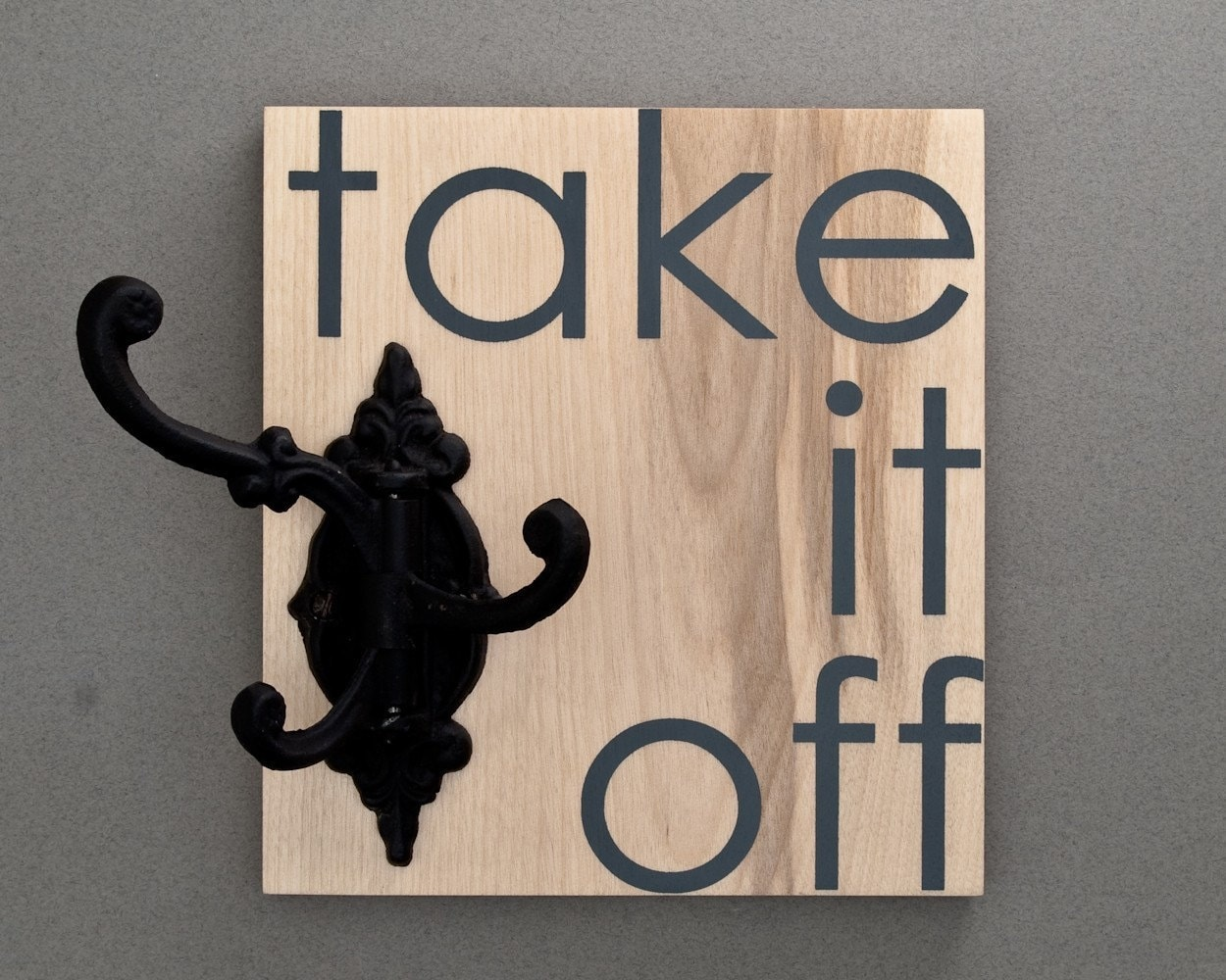 take it off coat rack by paperdollwoodshop on Etsy from etsy.com