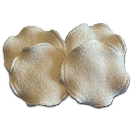 316 - Soft cotton reusable nursing pads for MOM 3 sets of 2