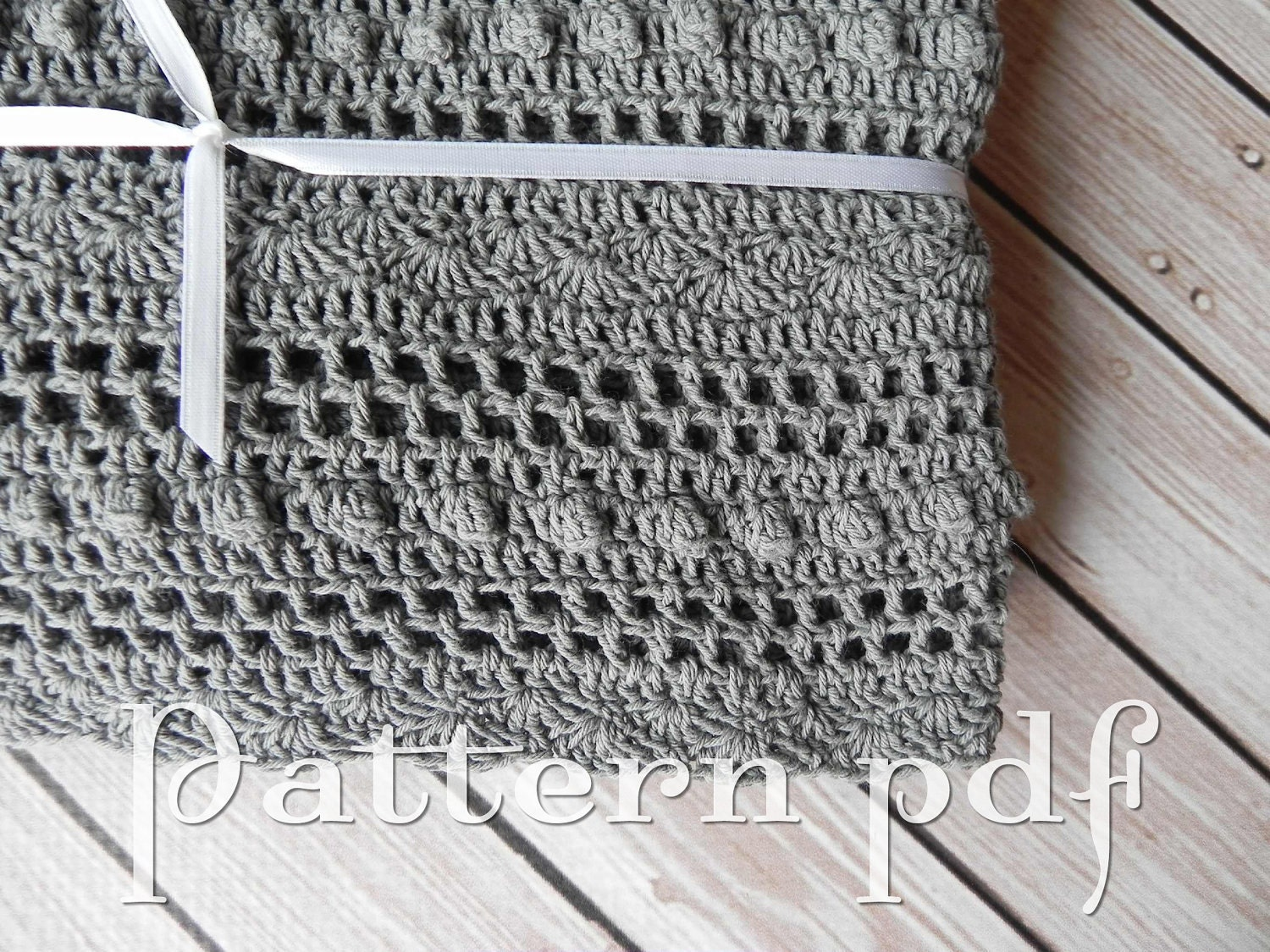 Crochet Baby Blanket Lace Pattern : Unavailable Listing on Etsy