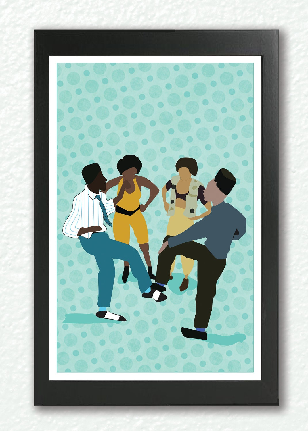 Classic movie poster house party kid n by goodnightowldesigns for House party kid n play