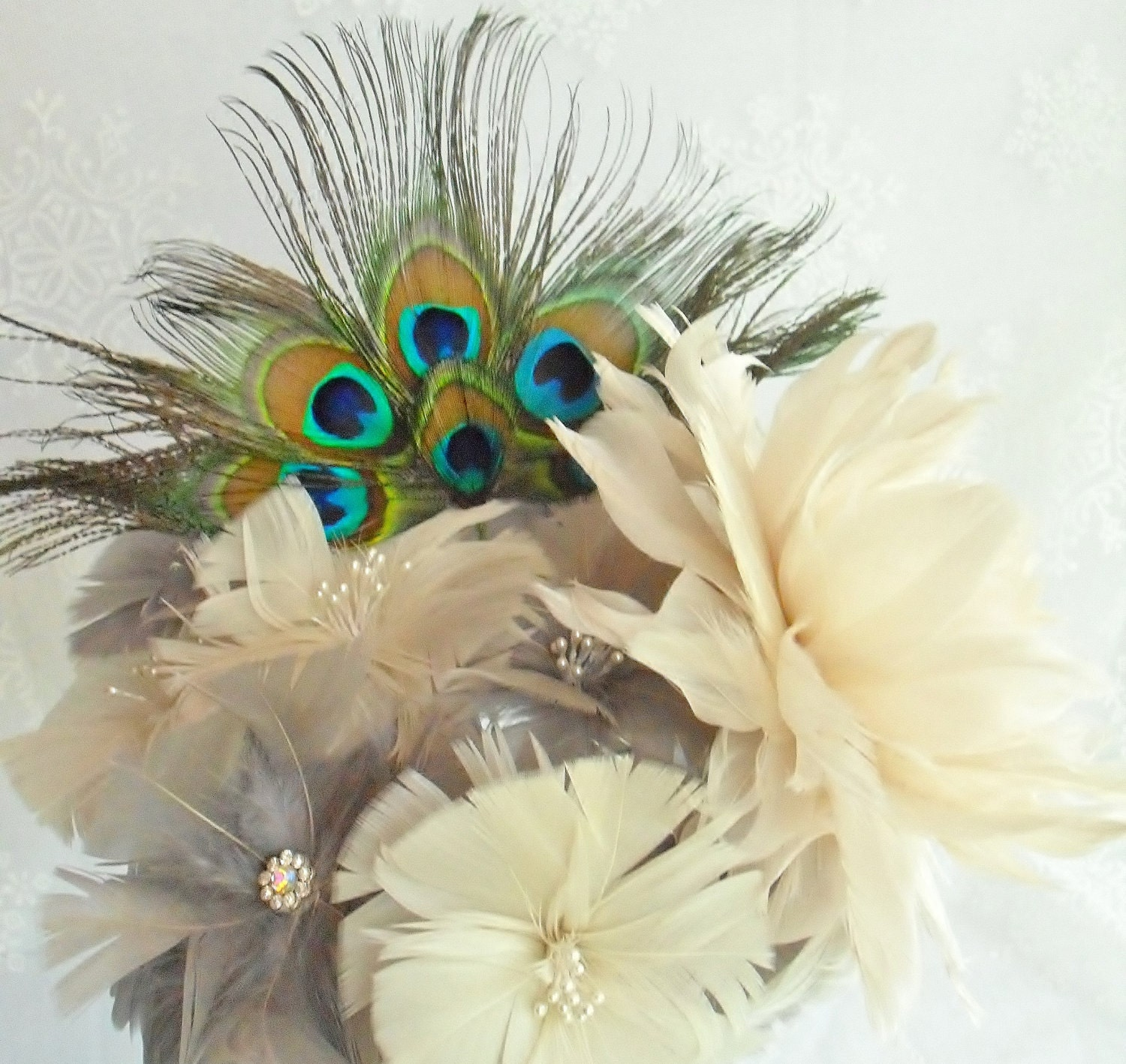 Diy Feather Bouquets Weddings: Unavailable Listing On Etsy