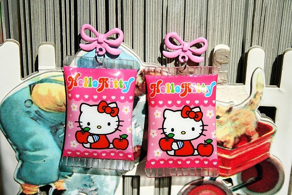 Hello Kitty Candy earrings