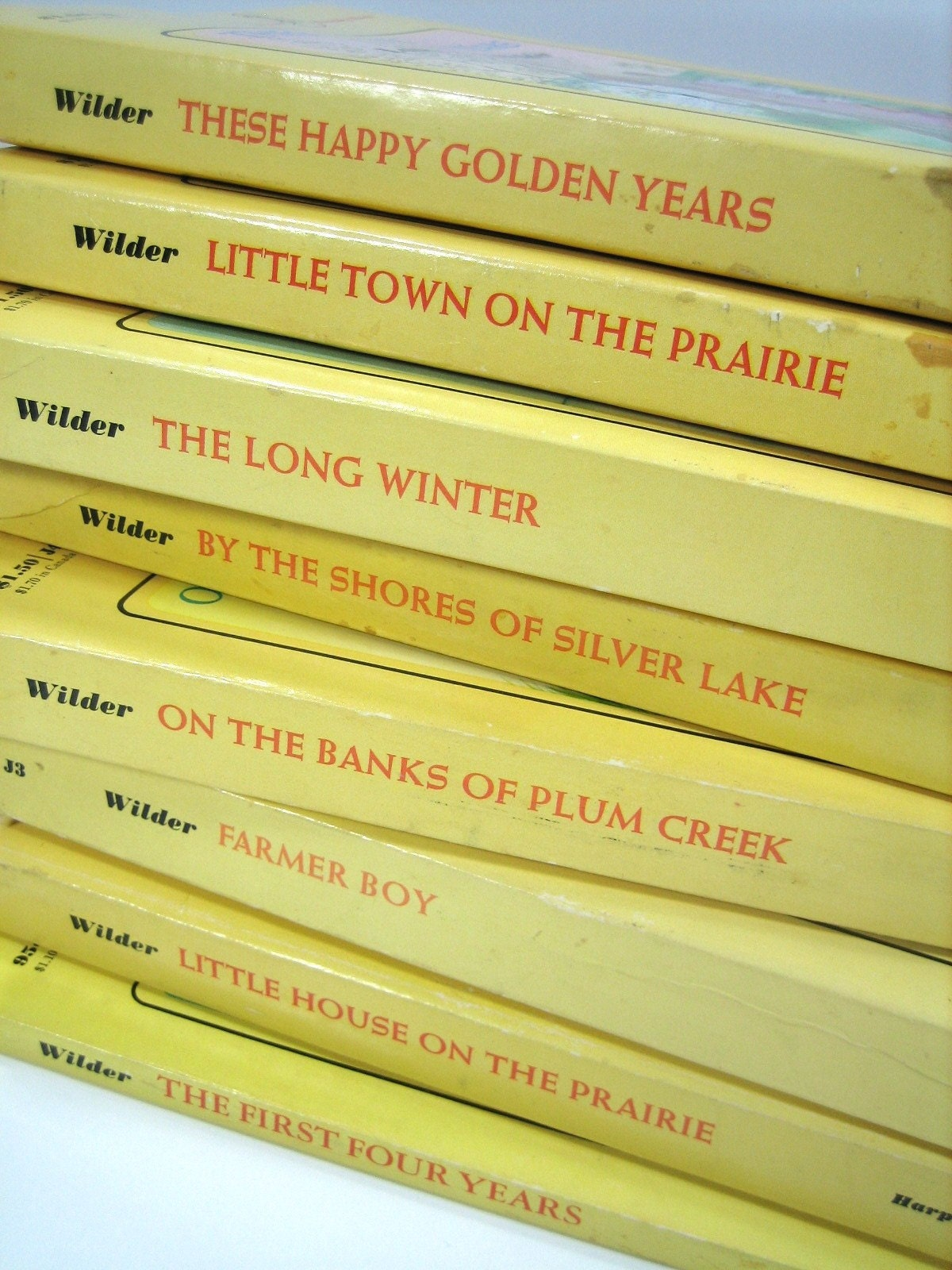 Little House on the Prairie.  Complete Book Set.  1971.