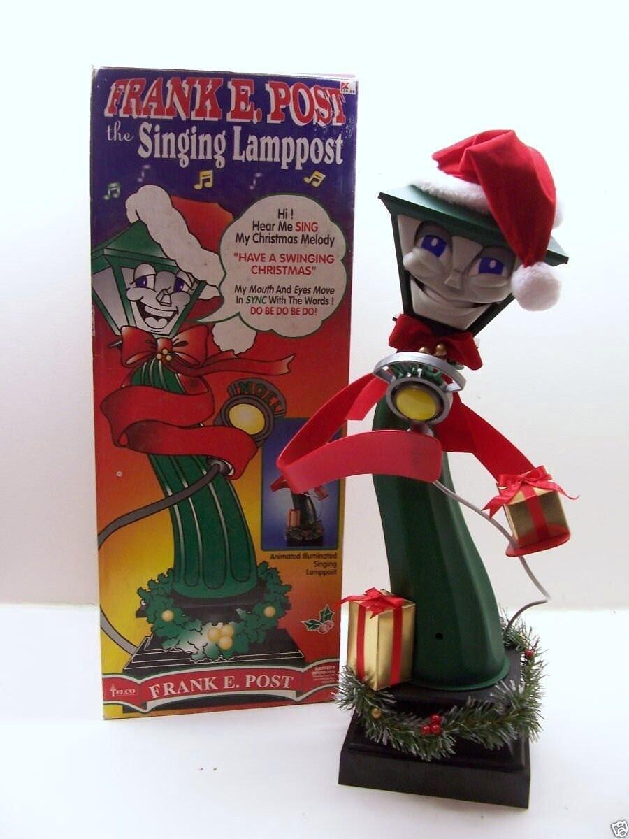Frank e post singing lamppost
