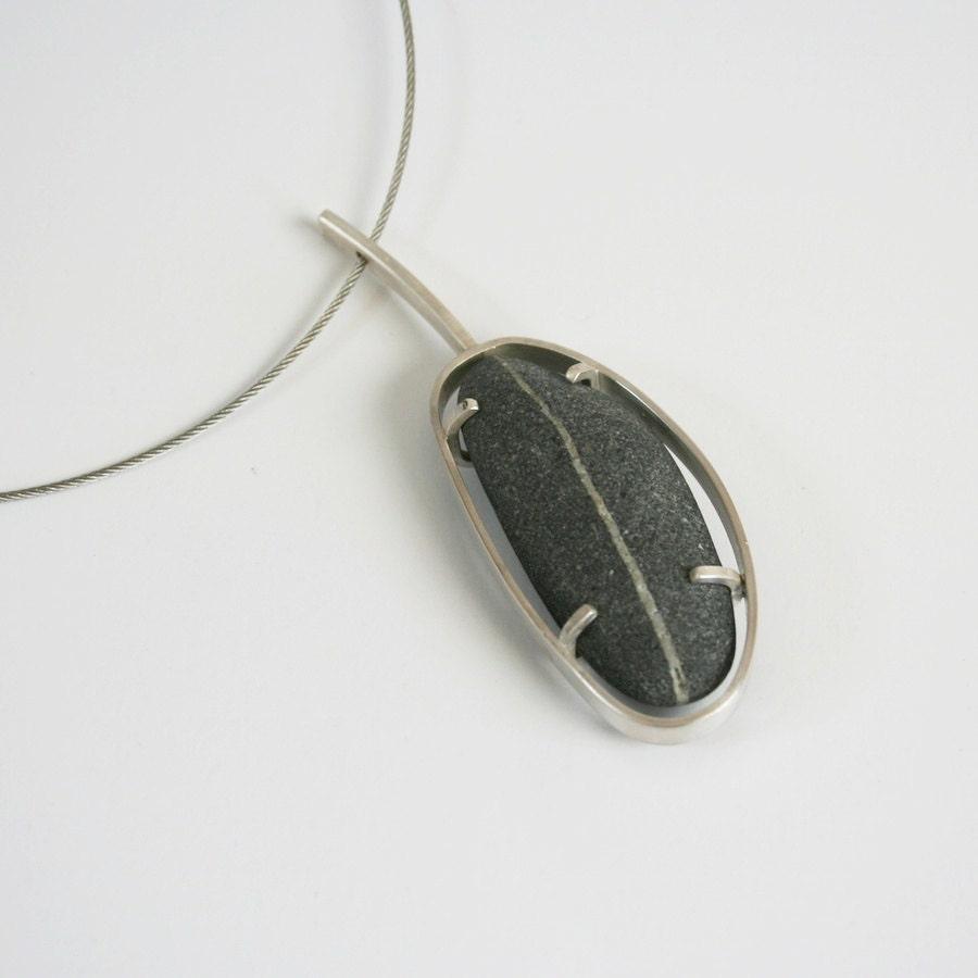 Wishing Stone Pendant Necklace - metalchick