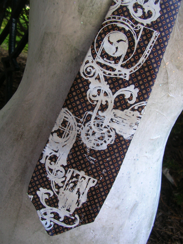 tie pattern template