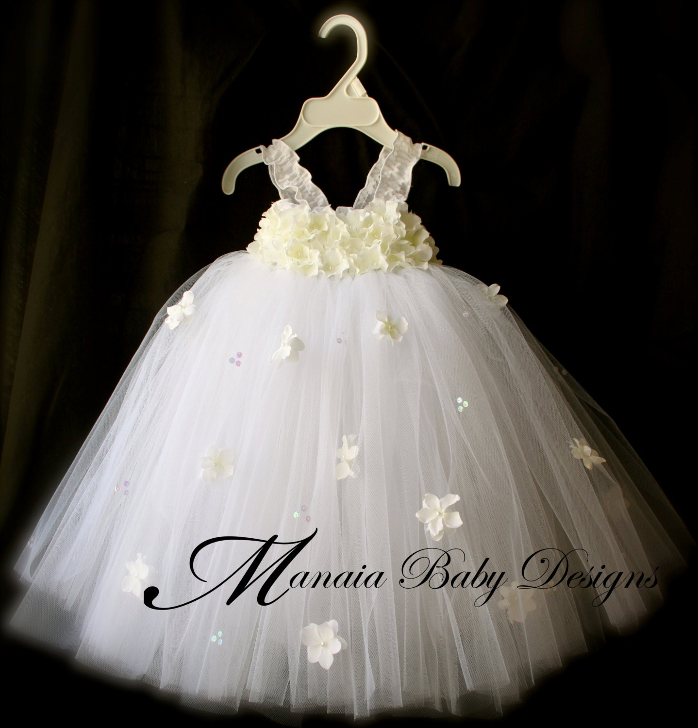 Baby christening dress baby confirmation by for Baby wedding dresses newborn