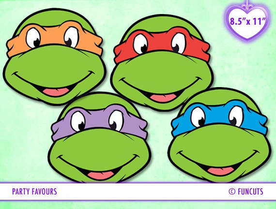 Teenage Mutant Ninja Turtles TMNT Any Party INSTANT Digital