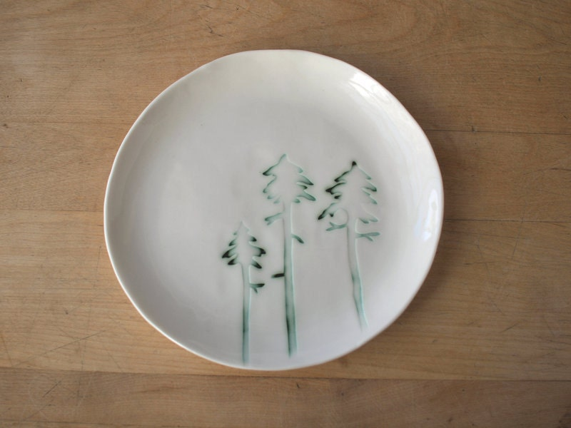black spruce lunch plate