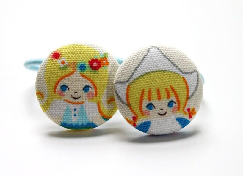 European Princess -------2 ponytail holders - CuckooBoo