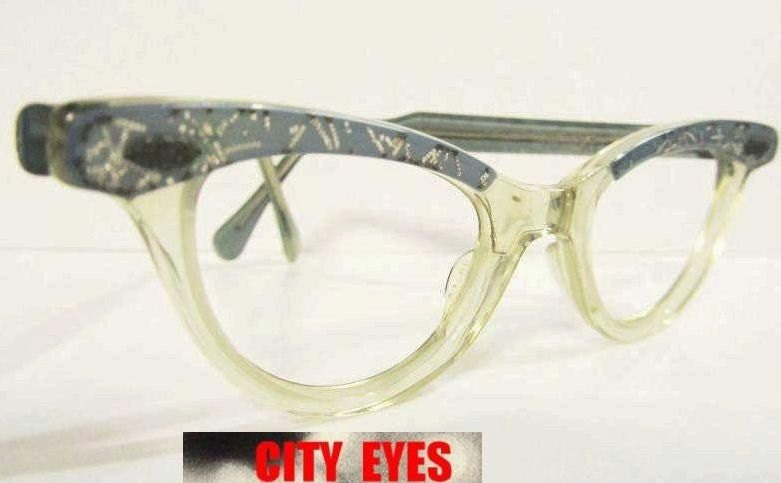 1950s Glitter CatEyes vintage optical frames by CityEyesOO ...