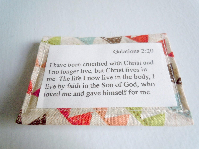 Scripture Memory Verse Card Holder - Banner