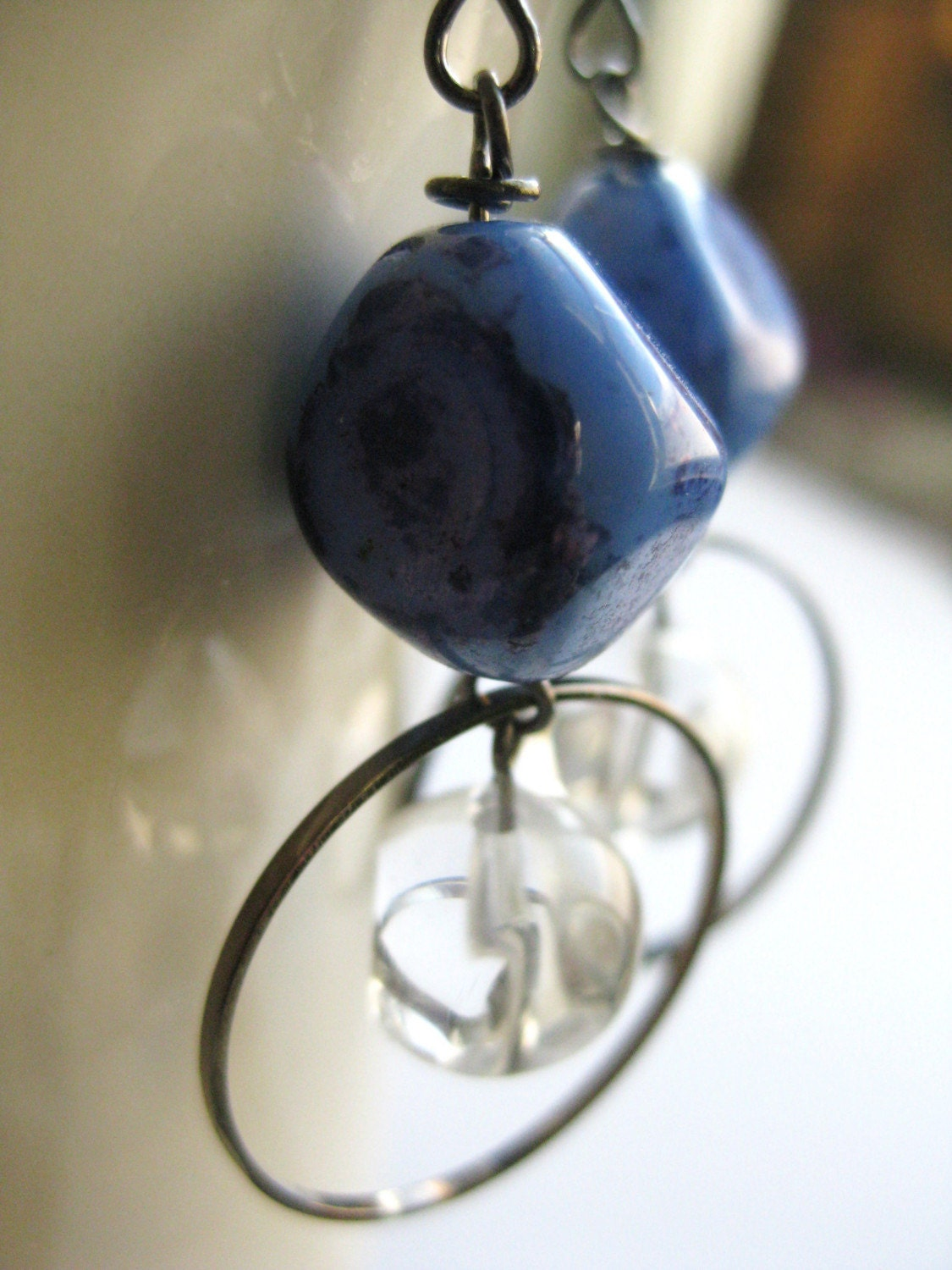 icy waters   earrings