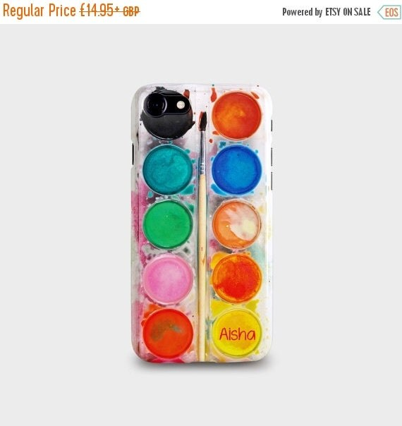 January Sale Personalised Paint Set iPhone Case for iPhone 7 7PLUS 66S 66S Plus 55S Se 5C
