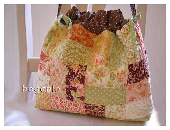 Quilted Tote Bag - Free Sewing Pattern - Love to Sew