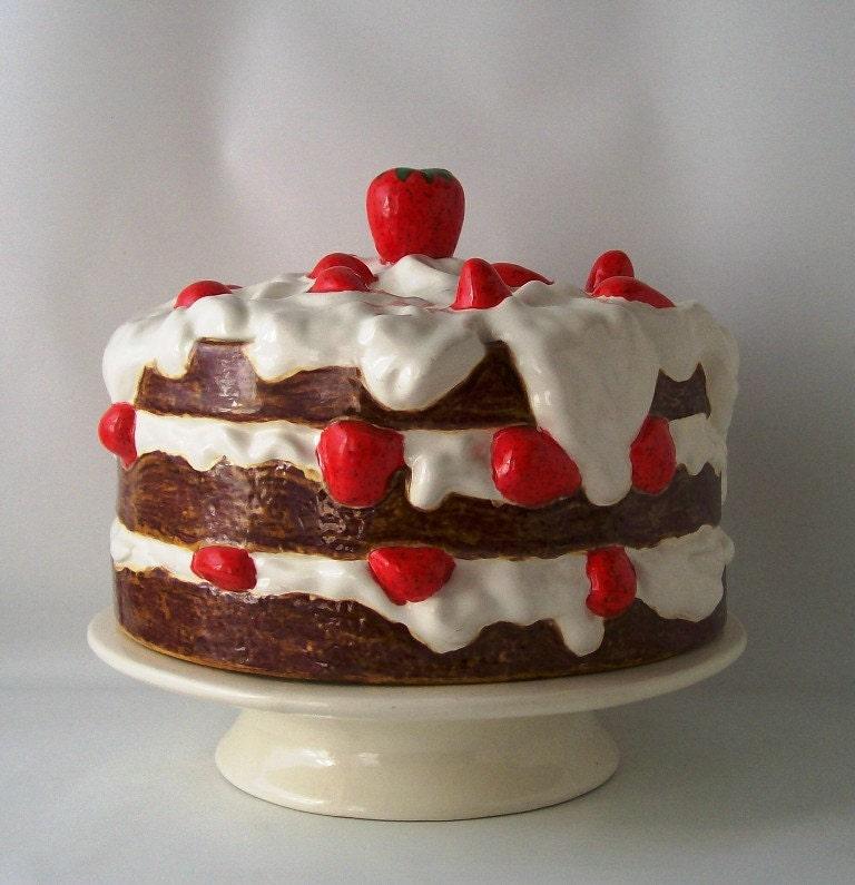 Lidded Glass Cake Stand