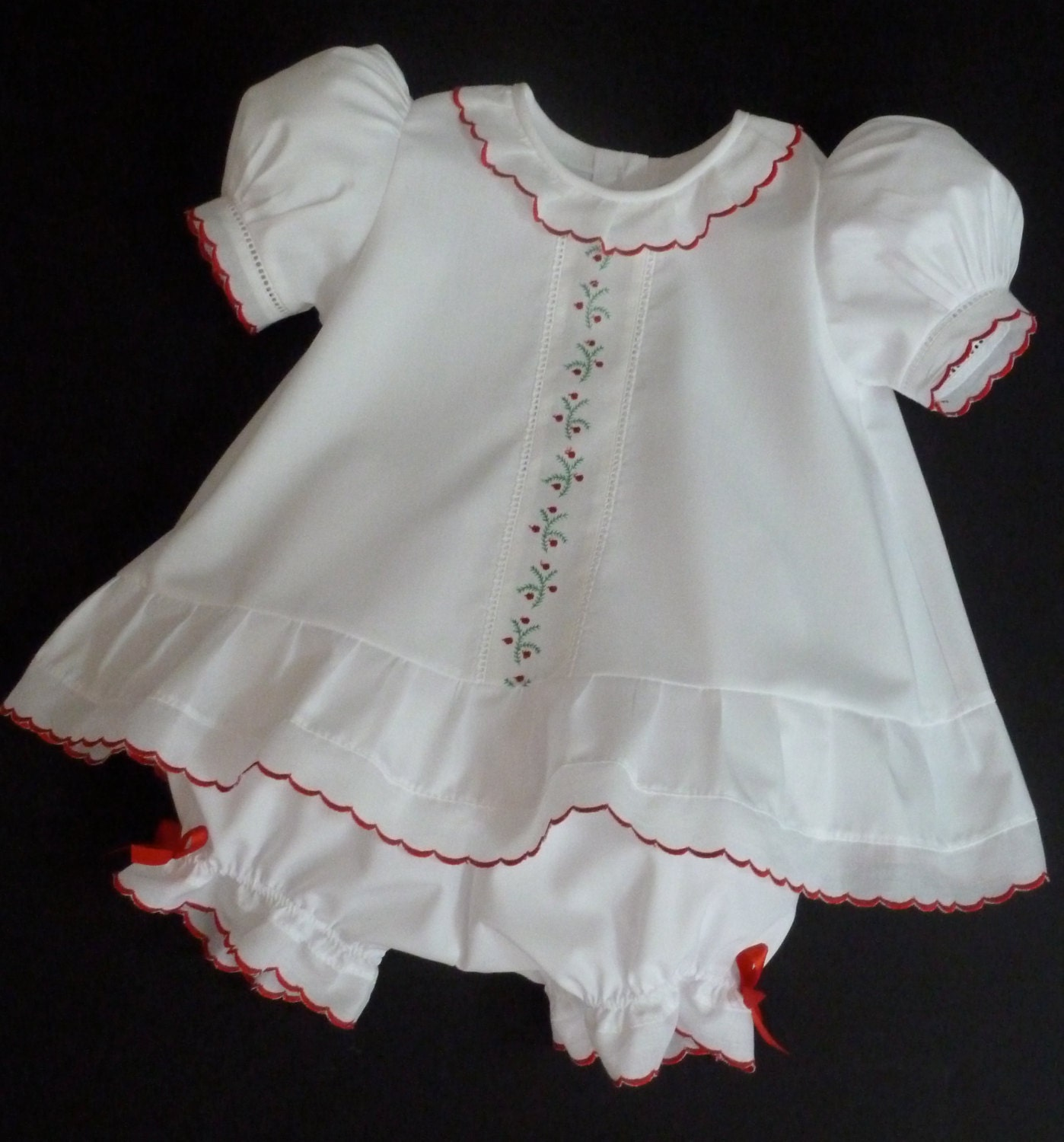To 6 month christmas baby girl dress and by justforbabyonline