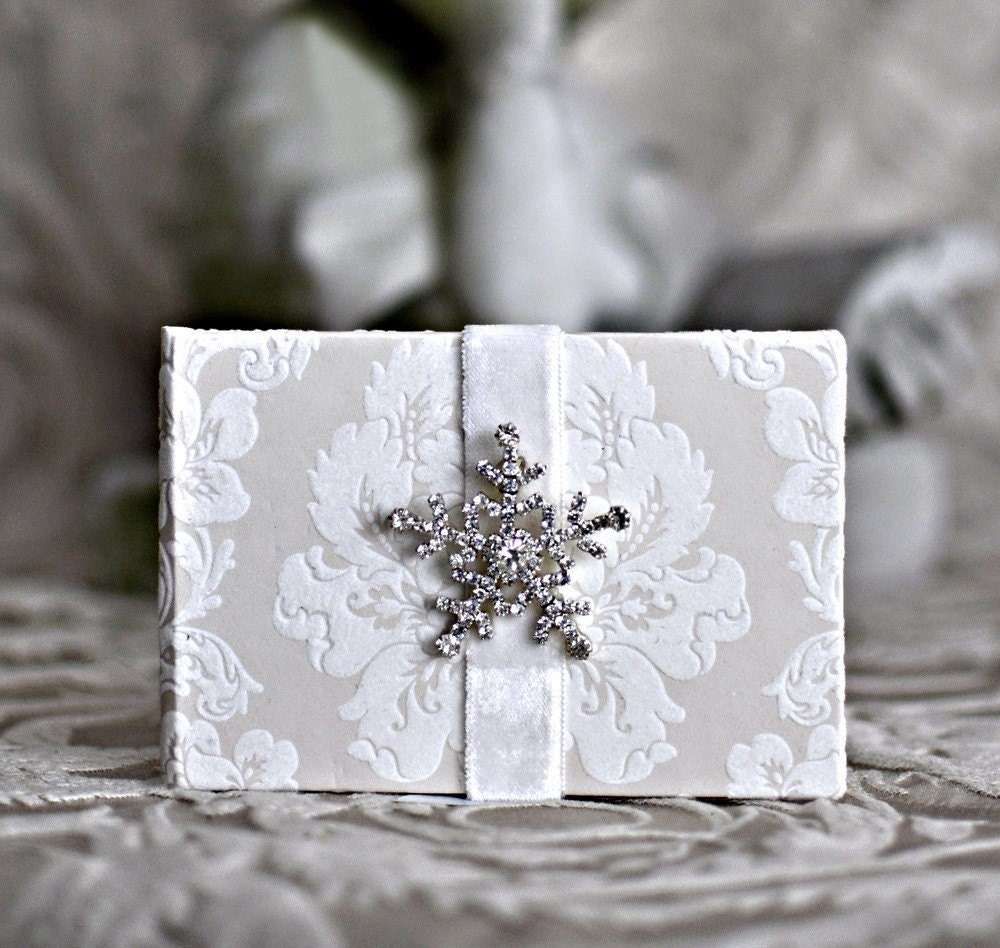 Twinkling Twyla Blank book snowflake Photo album star Journal