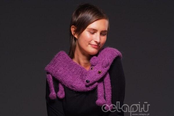 Foks - short in red violet
