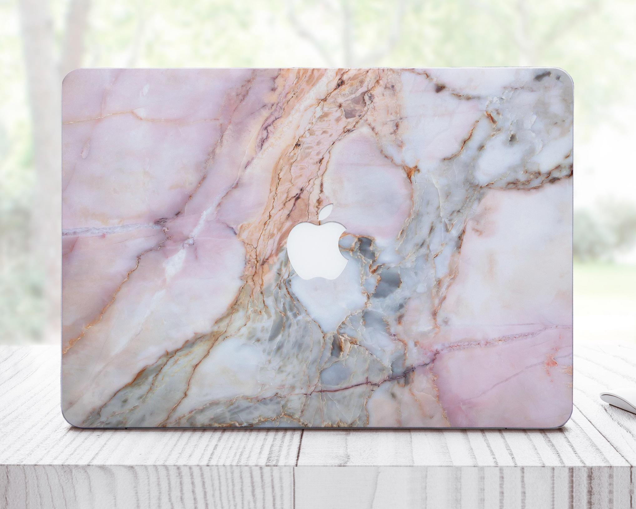 Pink Marble MacBook Pro Case MacBook Skin Laptop Case MacBook Air Skin MacBook Case MacBook Pro 13 Case MacBook Air Case ES0026