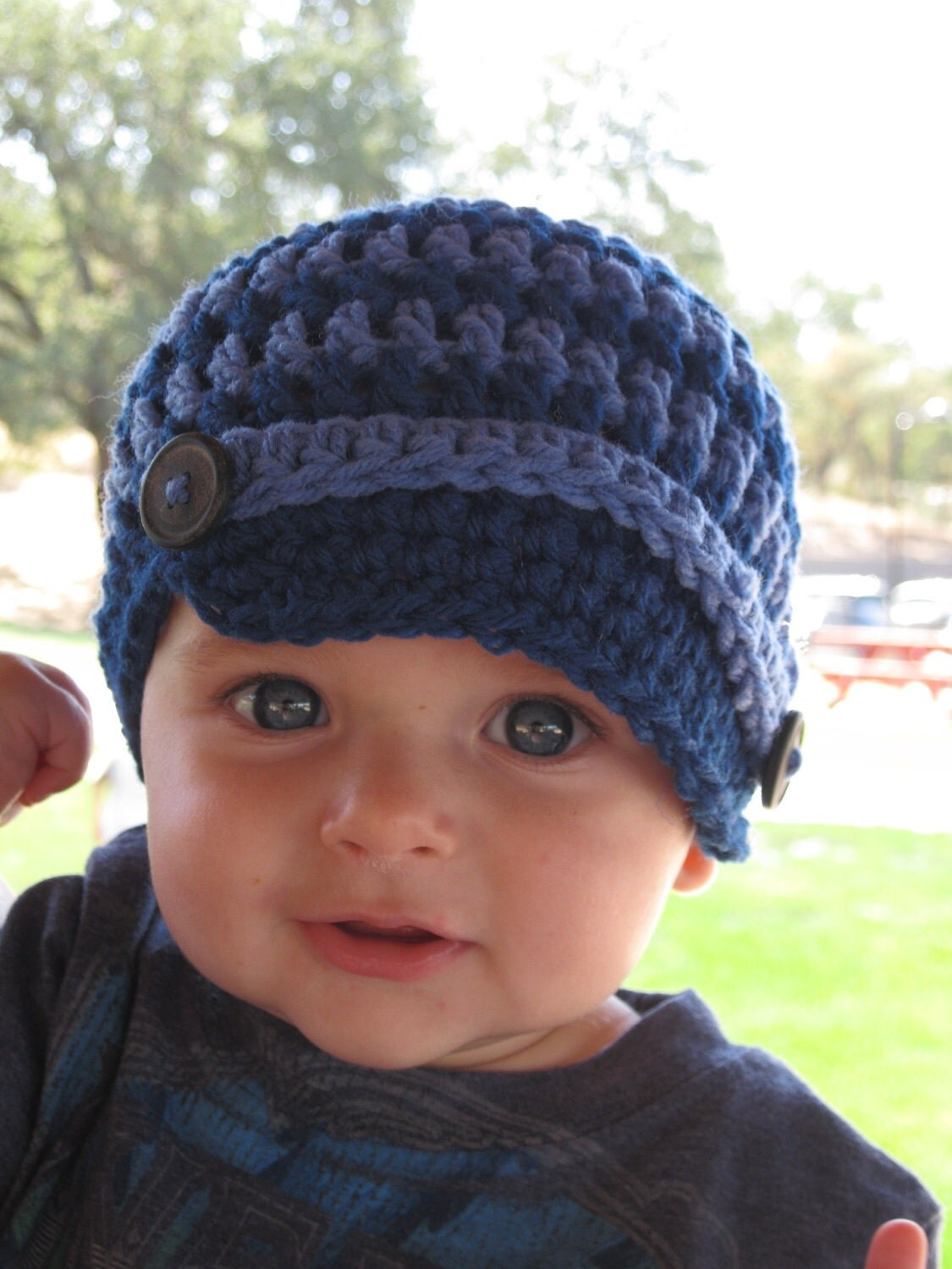 Crochet Mouse Toddler Hat