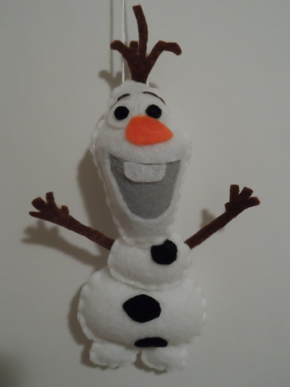 Олаф снеговик игрушка своими руками 14