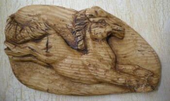 Equus Cabochon, Faux Bone , item 1A