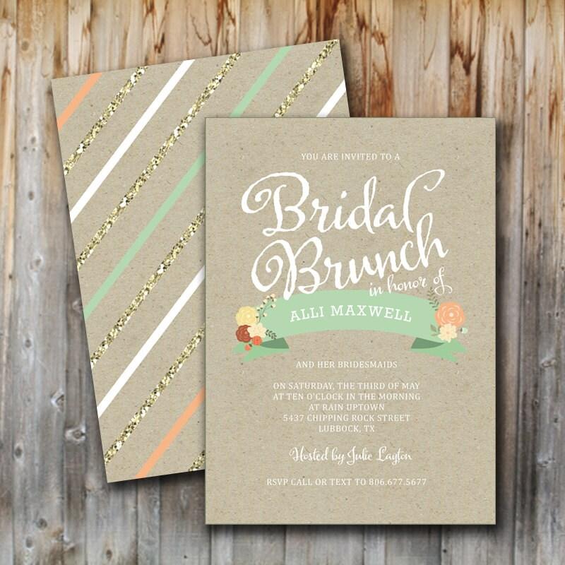 Wedding Brunch Invitations 033 - Wedding Brunch Invitations