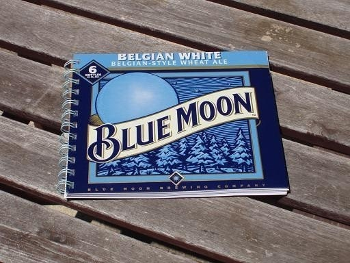 Blue Moon Recycled Note Pad