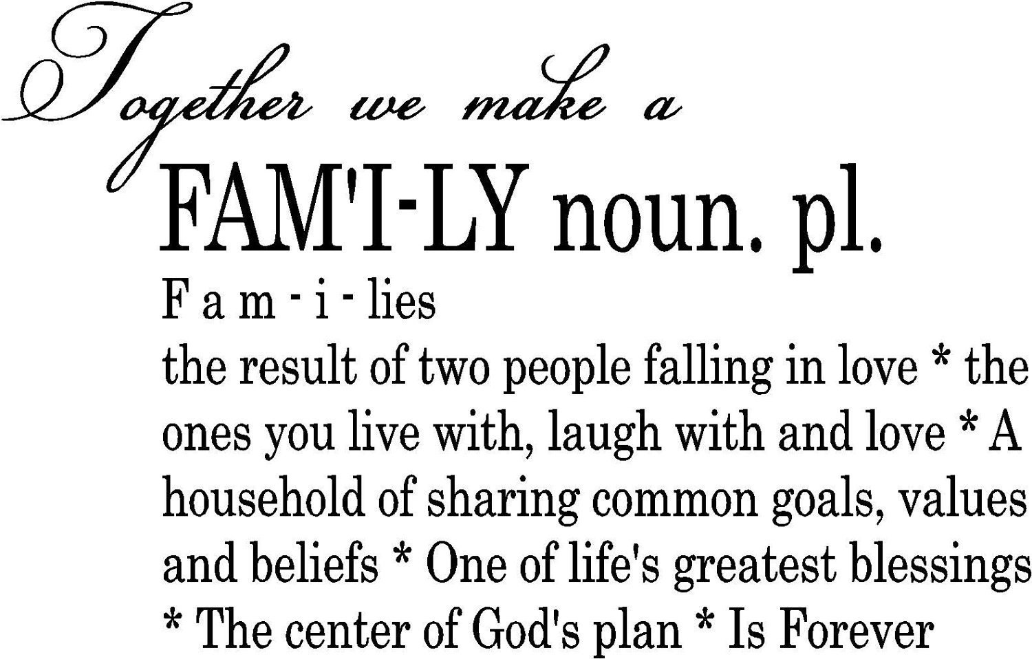 Displaying 17> Images For - Family First Quotes... Priority Quotes
