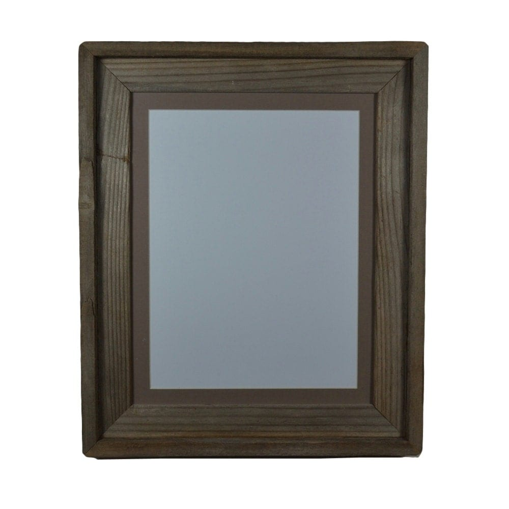 18x24 Picture Frame Walnut Wood  Matted for 12x18 Poster