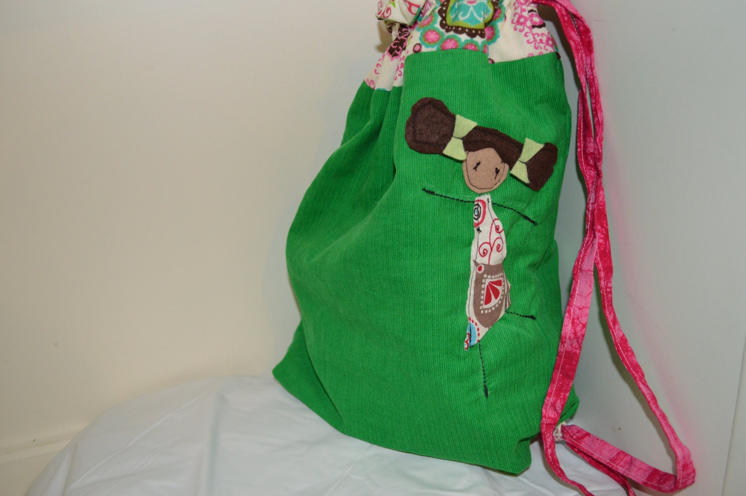 Green Library Ballet Bag