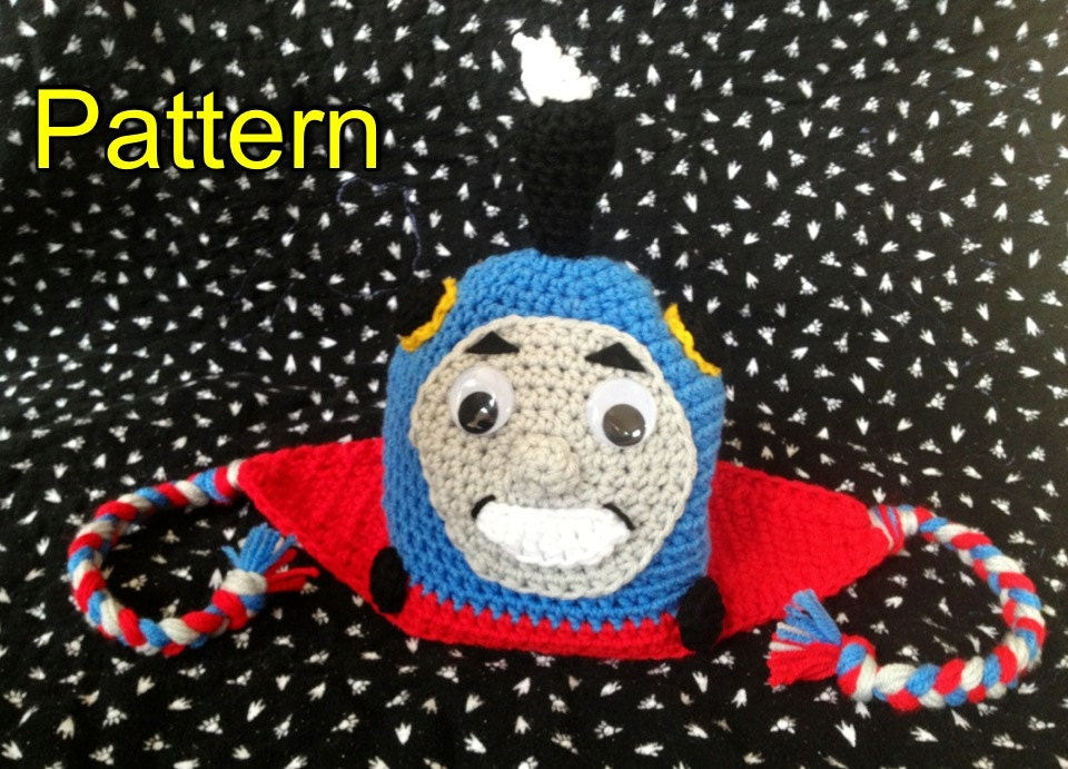 Free Crochet Hat Pattern For Thomas The Train : Pattern: Thomas the Train Crochet Hat by CheekyMunchkins ...