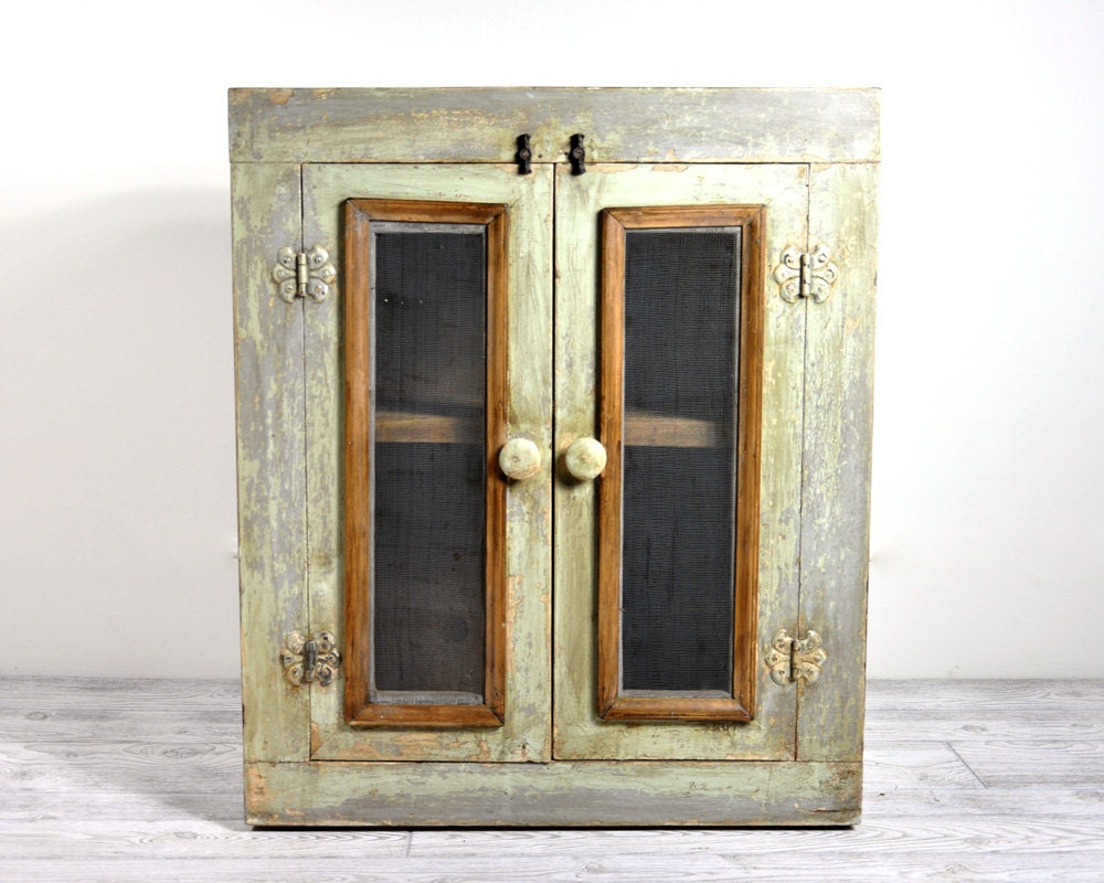 Reserved Antique Pie Safe Cabinet Primitive Pie By