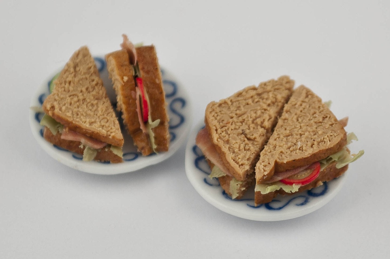 ham  salad sandwich for two