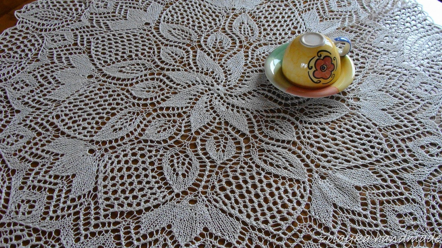 Knitted Tablecloth Patterns : knit-tablecloth-patterns Images - Frompo - 1