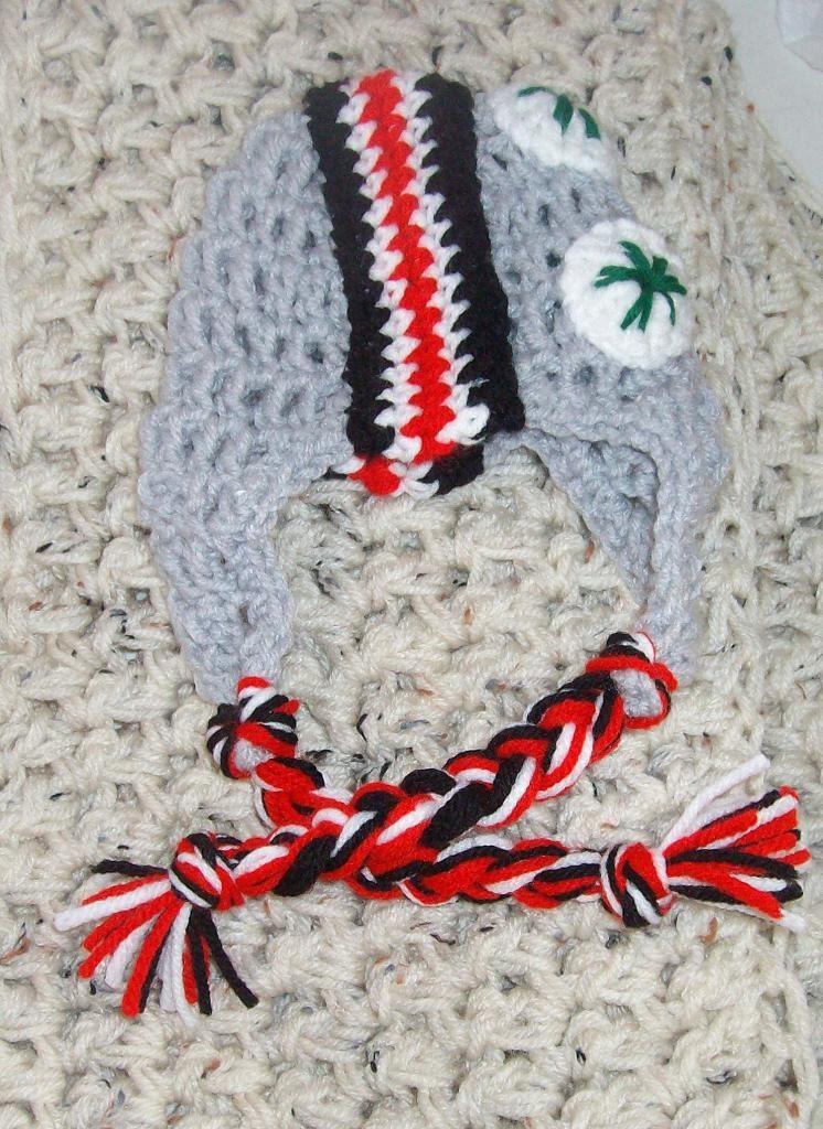 Brutus the Buckeye ~ Drunken Aunt Wendy - Crochet Pattern