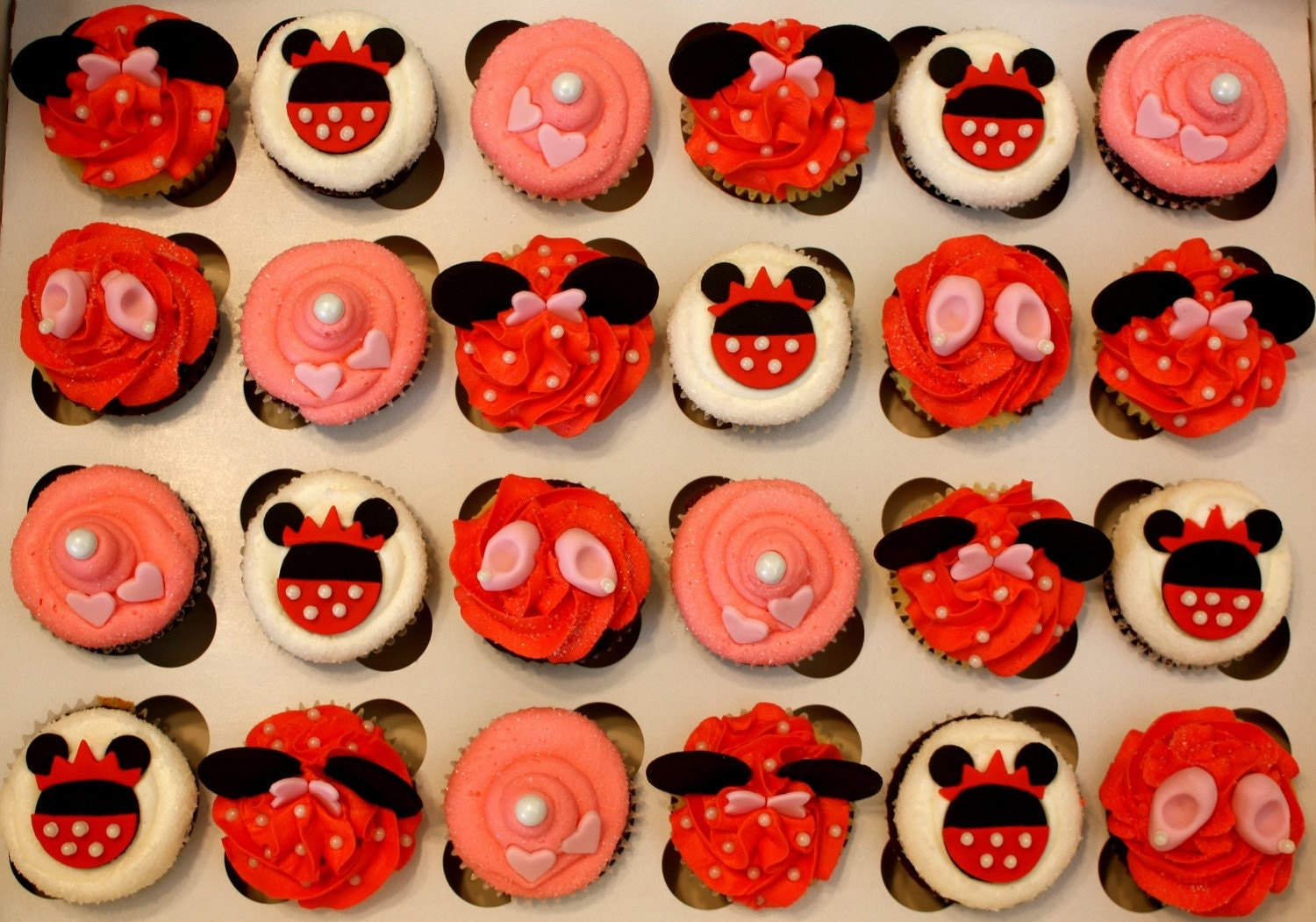 MOUSE' Fondant Toppers for