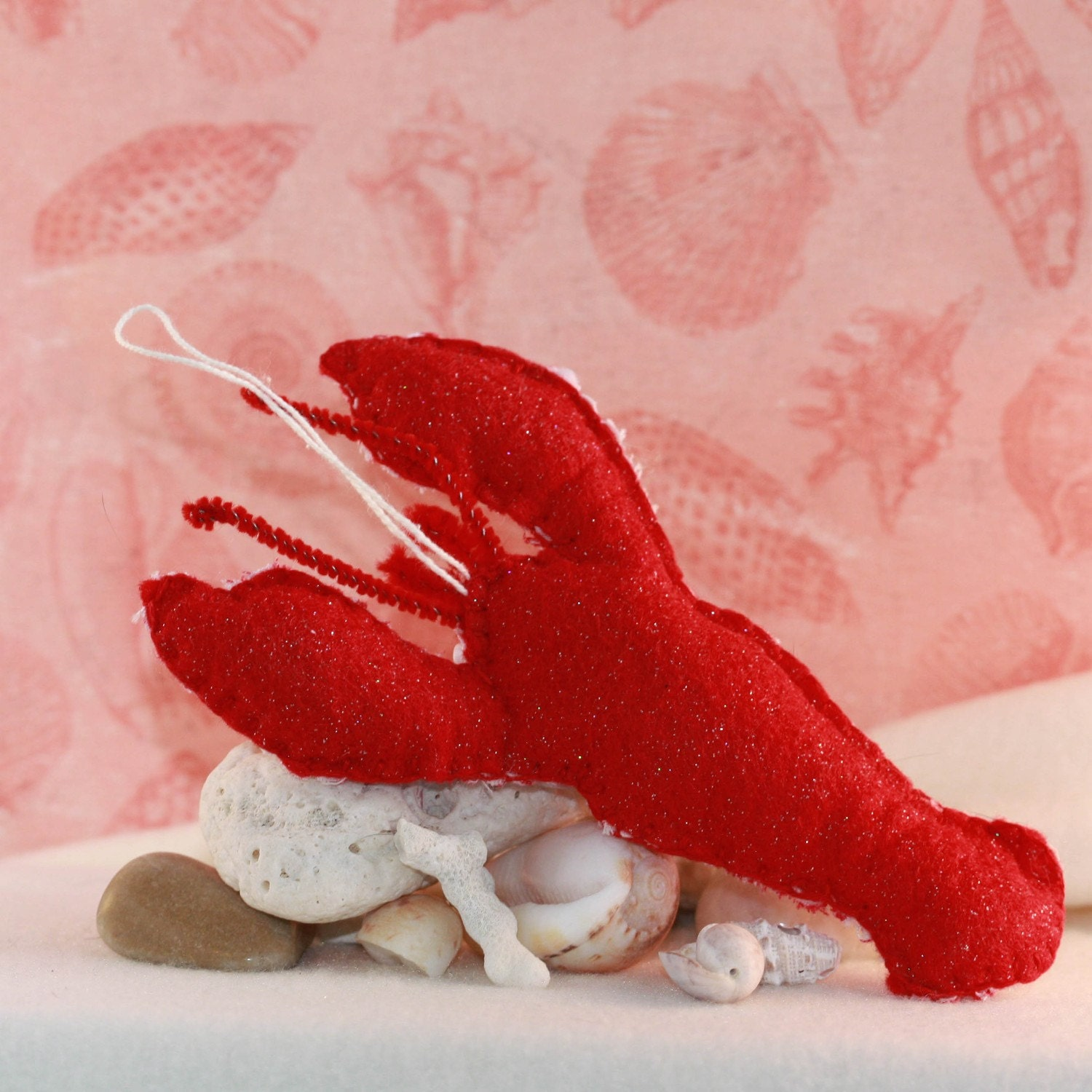 Gloucester Rabbit Red Lobster Quilty Critter