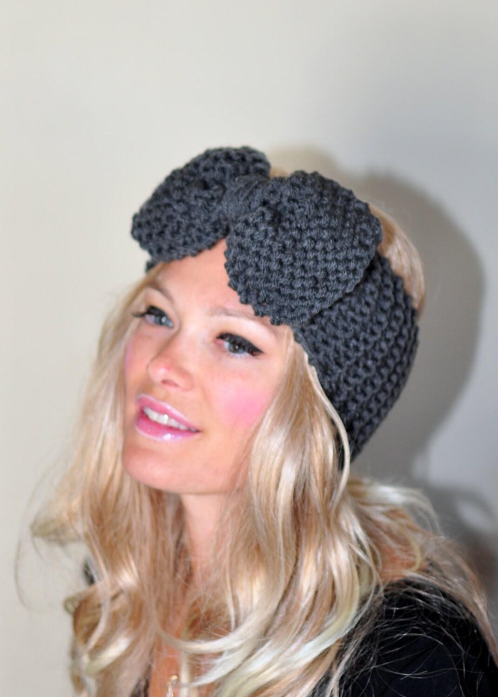Crochet Headband Pattern With Bow Traitoro For